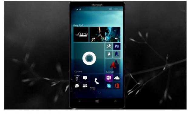 ชมคอนเซป Windows 10 ในโทรศัพท์มือถือ สุดงามที่ได้แรงบันดาลจาก Android