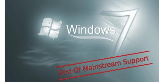 Windows 7 หมดระยะ Mainstream Support แล้วตั้งแต่วันที่ 13 ม.ค. 2015 เป็นต้นไป