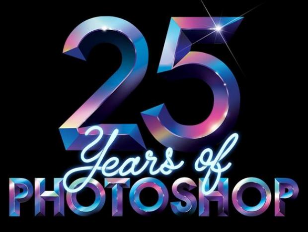 """Adobe Photoshop ฉลอง 25 ปี  """"ไอคอนเปลี่ยนโลก"""""""