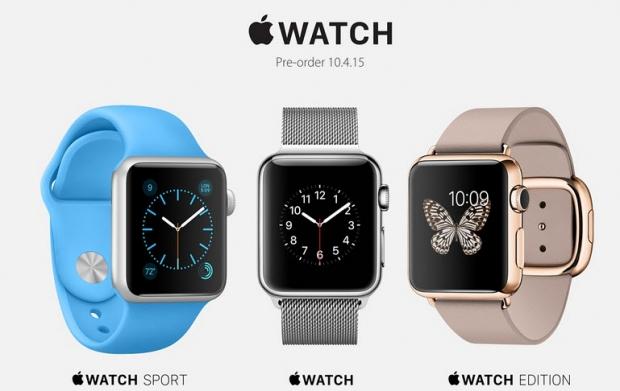 รวมราคา Apple Watch ,Apple Watch Sport และ Apple Watch Edition จำนวน 38 รุ่น