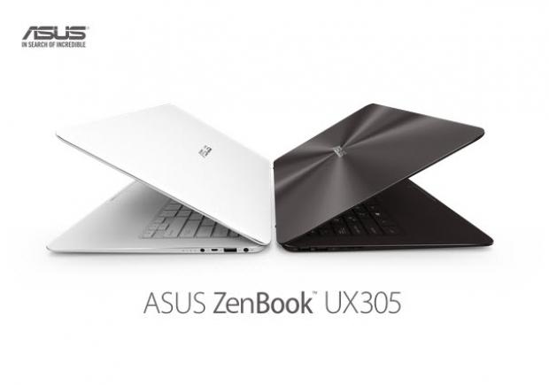ASUS เปิดตัว โน้ตบุ๊คบางที่สุดในโลก ZenBook UX305