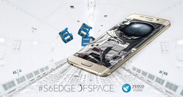 ห้าง Tesco จัดโครงการปล่อย Samsung Galaxy S6 Edge ขึ้นสู่อวกาศ