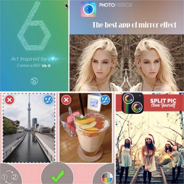 รวม 5 แอพฯ แต่งรูปฝาแฝด สำหรับ iOS ฟรี