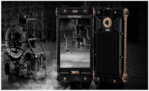 HANMAC New Defency มือถือสุดหรูราคาแพง
