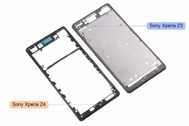 ภาพหลุด Sony Xperia Z4 ที่เป็นโครงเครื่อง เผยให้เห็นถึง ลักษณะใหม่ของ Flagship รุ่นต่อไปของ Sony