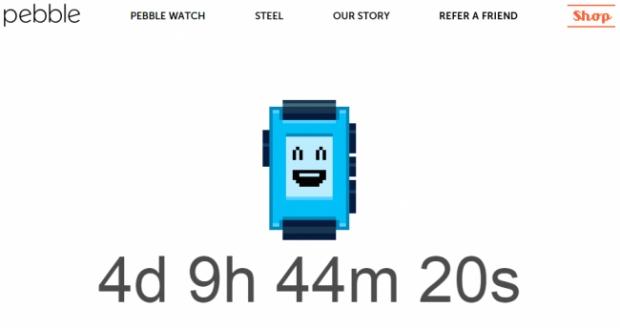 Pebble Smartwatch เริ่มนับถอยหลังเปิดตัวรุ่นใหม่แล้ว