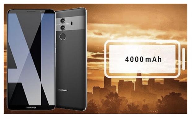 Huawei Mate 10 ยืนยันมีแบตไซส์ใหญ่ 4000 mAh