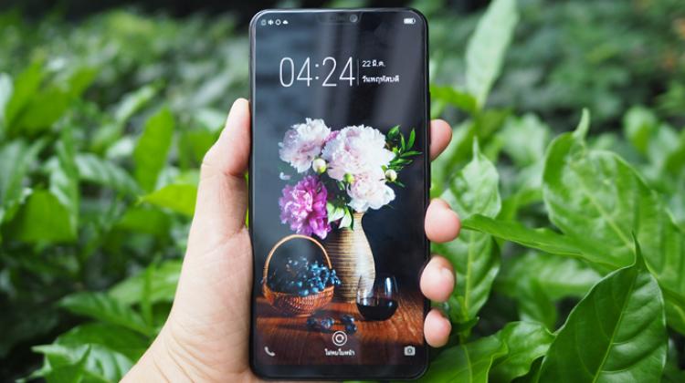 เปิดตัว Vivo V9 สมาร์ทโฟน หน้าจอไร้ขอบดีไซน์สวยพร้อมรอยบาก