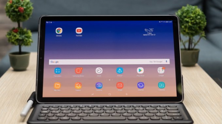 Samsung เปิดตัว Galaxy Tab S4 แท็บเล็ตทรงพลัง หน้าจอบางลง พร้อม S Pen