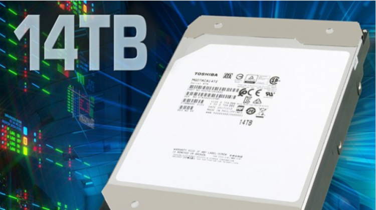 Toshiba เปิดตัวฮาร์ดดิสก์แผ่นจานแม่เหล็ก รุ่นแรกของโลก