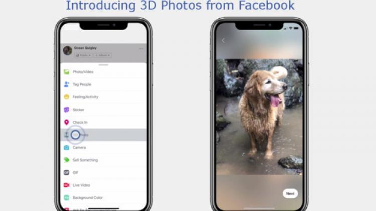 """สอนทำภาพ """"3D Photo บน Facebook"""