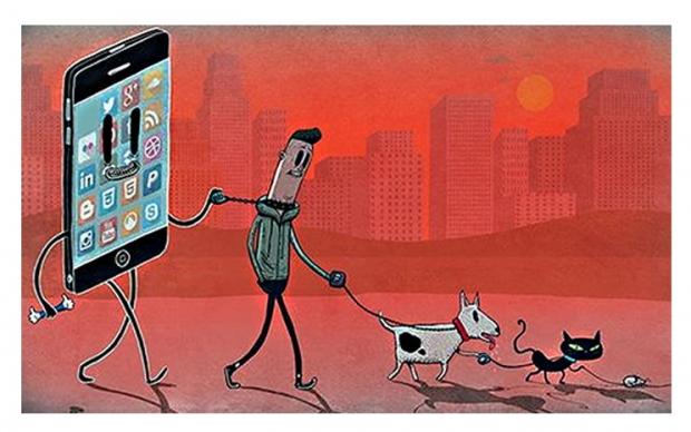 เทคโนโลยีสมาร์ทโฟนสร้างความใกล้ชิดหรือทำลายตัวตนของมนุษย์