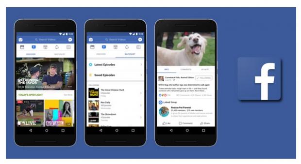 เฟซบุ๊กเปิดตัวแท็บ Watch รวมวิดีโอรายการต่าง ๆ