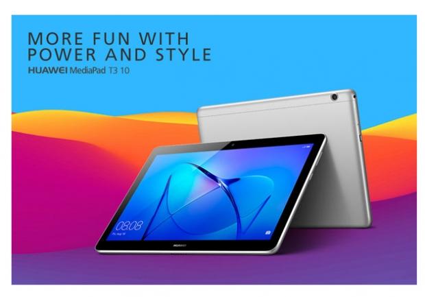 Huawei เปิดตัว MediaPad T3 10 แท็บเล็ตแอนดรอยด์รุ่นใหม่