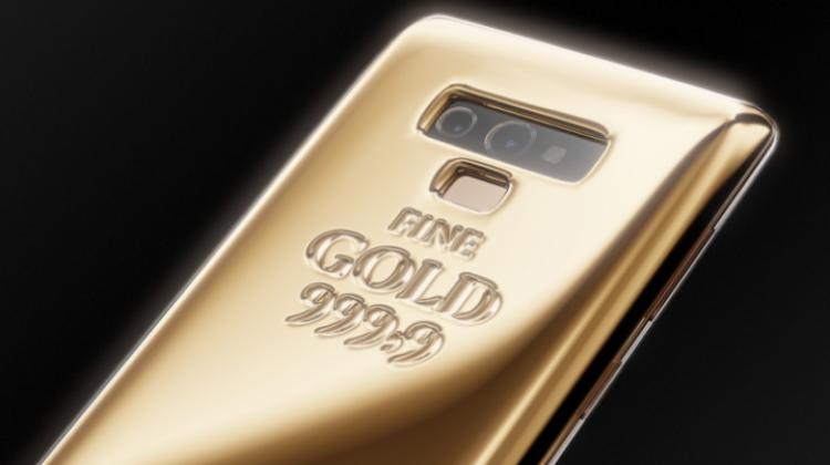 แบรนด์หรูรัสเซีย จำหน่าย Samsung Galaxy Note 9 ทองคำบริสุทธิ์ มูลค่าเกือบ 2 ล้านบาท