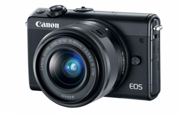 Canon M100 มาแล้ว กล้องมิลเลอร์เลสรุ่นเล็กงานดี
