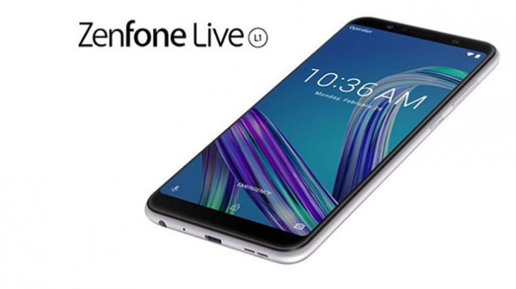 เปิดตัว Asus ZenFone Live L1 น้องเล็กรุ่นแรกบน Android Go