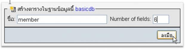 ขั้นตอนการใช้ PHP ร่วมกับ MySQL