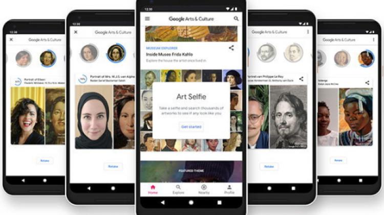 Google เปิดตัวฟีเจอร์ Art Selfie ในแอปพลิเคชัน Google Arts & Culture