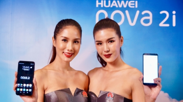 Huawei nova 2i มือถือกล้อง 4 ตัว พร้อมหน้าจอไร้ขอบ