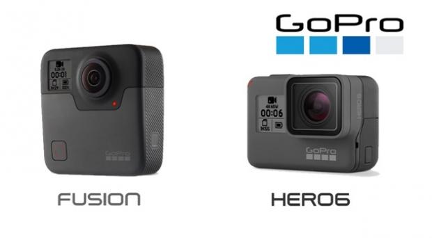 GoPro เปิดตัวกล้อง GoPro Hero6 Black รองรับ 4K และ GoPro Fusion รองรับ VR