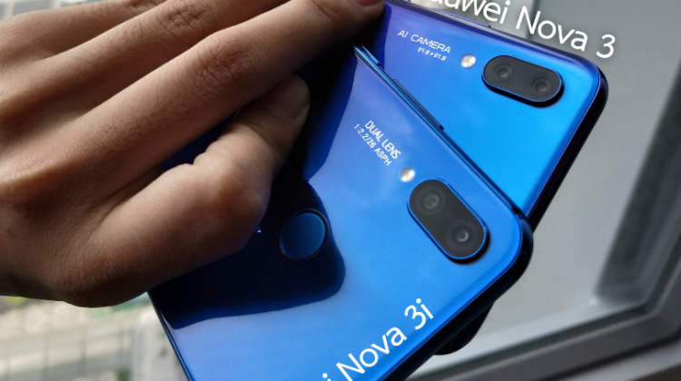 เปิดตัว Huawei nova3 & 3i สมาร์ทโฟน 4 กล้องสมองกล AI