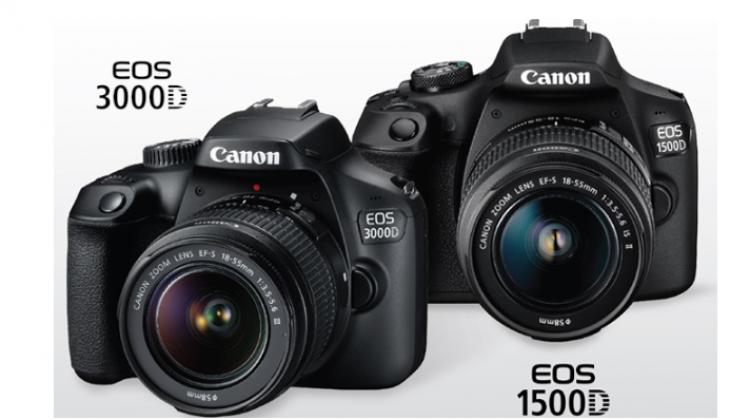 """Canon เปิดตัวกล้อง"""" Canon EOS 1500D"""" และ """" Canon EOS 3000D"""""""