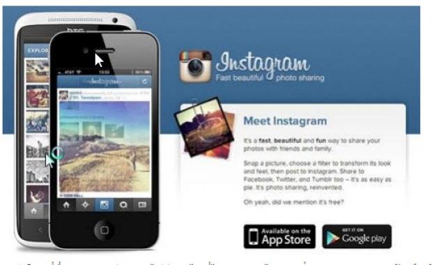 ทำความรู้จัก Instagram Application