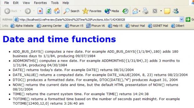 การใช้งาน SQL Functions รูปแบบที่ 5