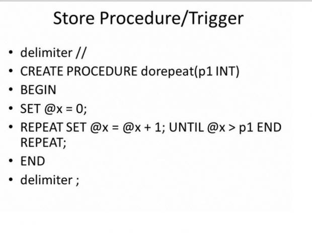 รู้จัก Trigger ใน SQL
