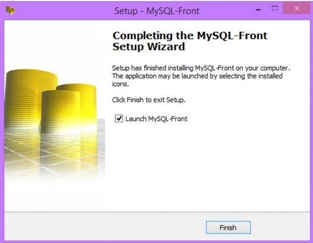 การใช้โปรแกรมและการติดตั้ง MySQL-Front