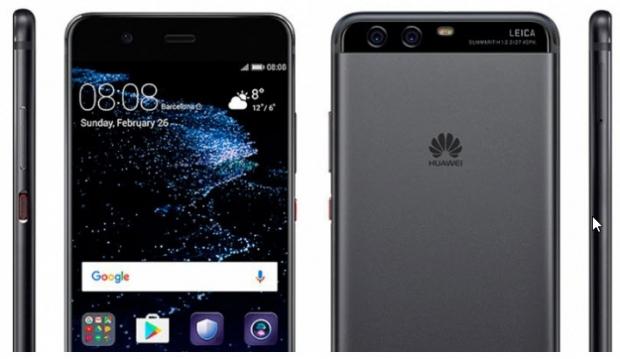 หน้าตาของ Huawei P10 ที่เตรียมเปิดตัวในงาน MWC2017