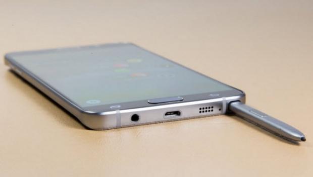 ปัญหาการเก็บปากกา S Pen ของ Samsung Galaxy note 5