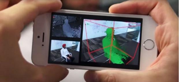 เปลี่ยนสมาร์ทโฟนเป็นเครื่องสแกนเนอร์แบบ 3 มิติ