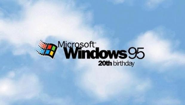 วันนี้ Windows 95 มีอายุครบ 20 ปีแล้วนะ