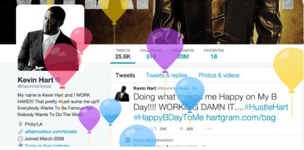 ทวิตเตอร์อัพเดทให้สามารถระบุวันเกิดในโปรไฟล์ได้แล้ว