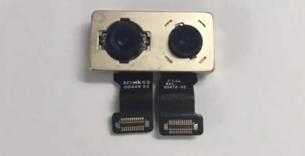 หลุดชิ้นส่วนกล้อง iPhone 7 Plus