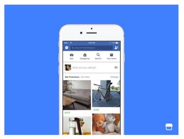 เฟซบุ๊กเปิดตัว Marketplace ตลาดรวมสินค้าบนเฟซบุ๊ก