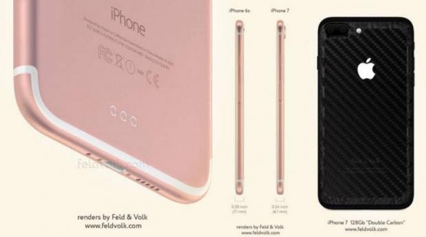 คาด iPhone7 จะใช้กล้องหลังแบบเลนส์คู่