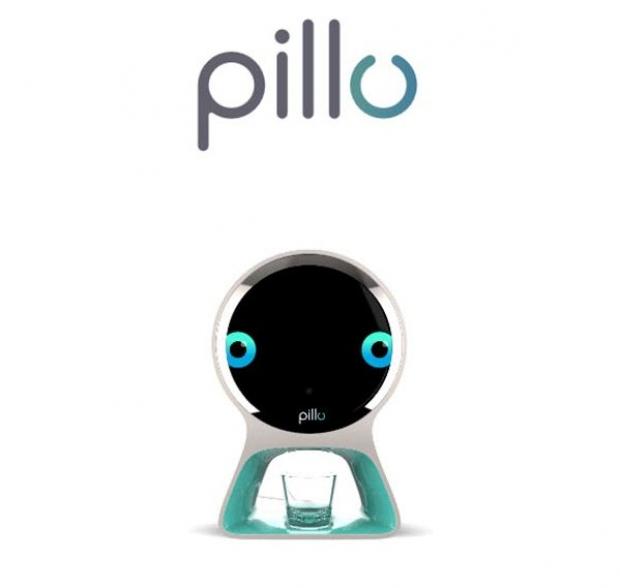 Pillo หุ่นยนต์จ่ายยาอัจฉริยะ