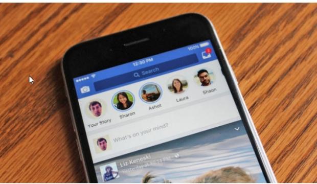 Facebook เพิ่มฟีเจอร์ Facebook Stories