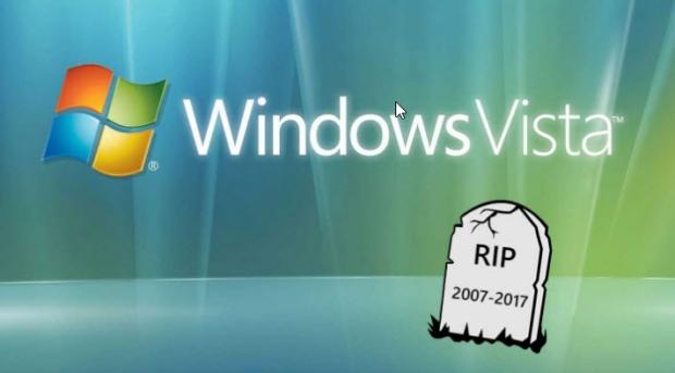 ไมโครซอฟท์จะเลิกให้การสนับสนุน Windows Vista แล้ว