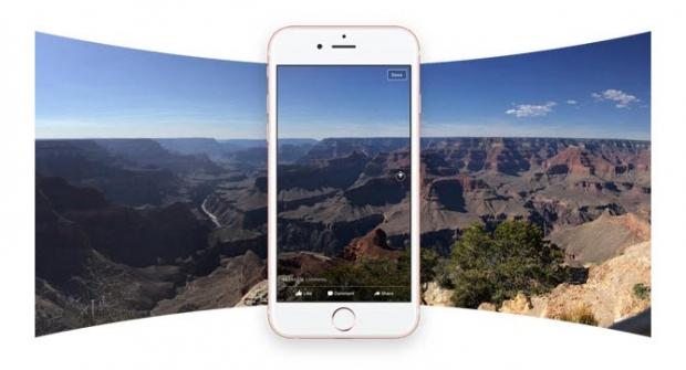 เฟซบุ๊กรองรับภาพ 360 องศาแล้ว
