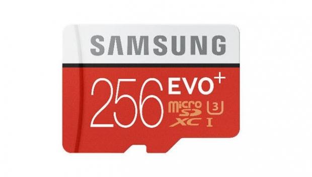 ซัมซุงเปิดตัว EVO Plus 256GB microSD Card
