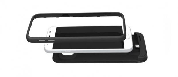 เคสแบตฯ  ของ Samsung Galaxy S6 ที่มาพร้อมกับ microSD card ในตัว