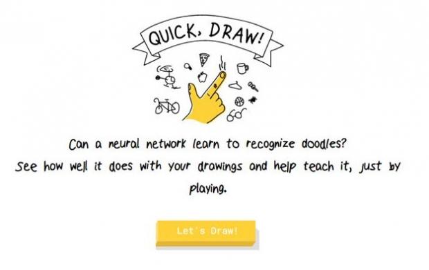 Quick, Draw ! เกมวาดรูปสุดฮิตจากกูเกิล