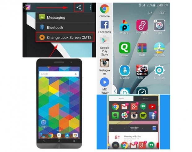 แอพพลิเคชั่น Launcher สำหรับแต่งหน้าจอมือถือ Android