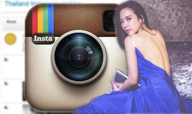 ดาราไทยที่ทรงอิทธิพลมากที่สุดบน  Instagram