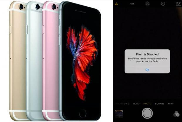 งานเข้าจนได้ iPhone 6s Plus เครื่องร้อน