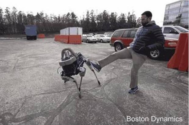 มารู้จักกับหุ่นยนต์คล้ายสุนัข
